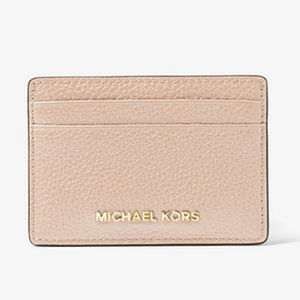 🆕 NWT 🌷Michael Kors Pebbled Leather Card Case